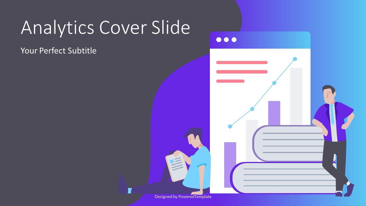 Financial Analytics Cover Slide, Slide 2, 07411, Presentation Templates — PoweredTemplate.com