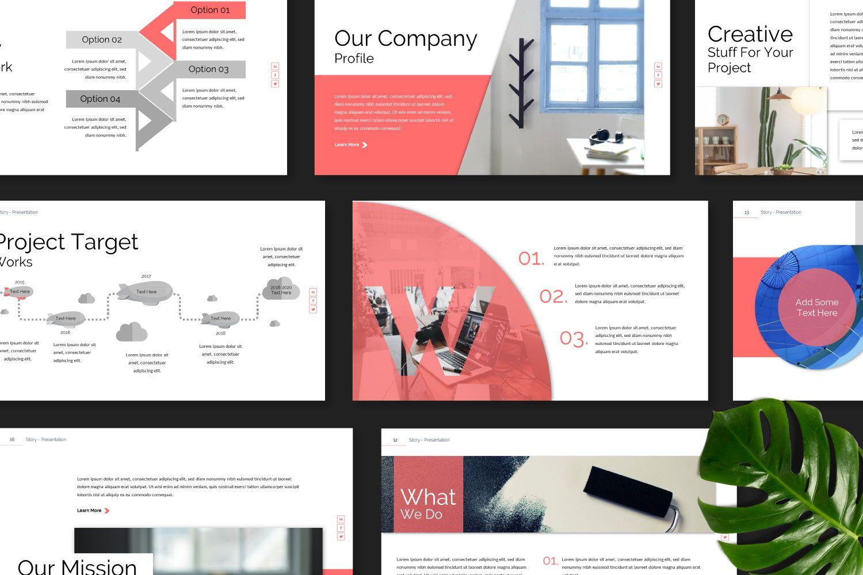 Story Business Keynote, Slide 11, 07412, Presentation Templates — PoweredTemplate.com