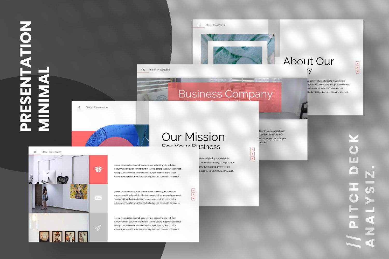 Story Business Keynote, Slide 2, 07412, Presentation Templates — PoweredTemplate.com