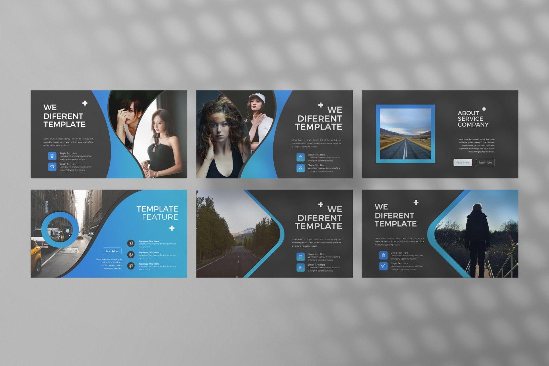 UCorporate Business Powerpoint, Slide 6, 07413, Presentation Templates — PoweredTemplate.com