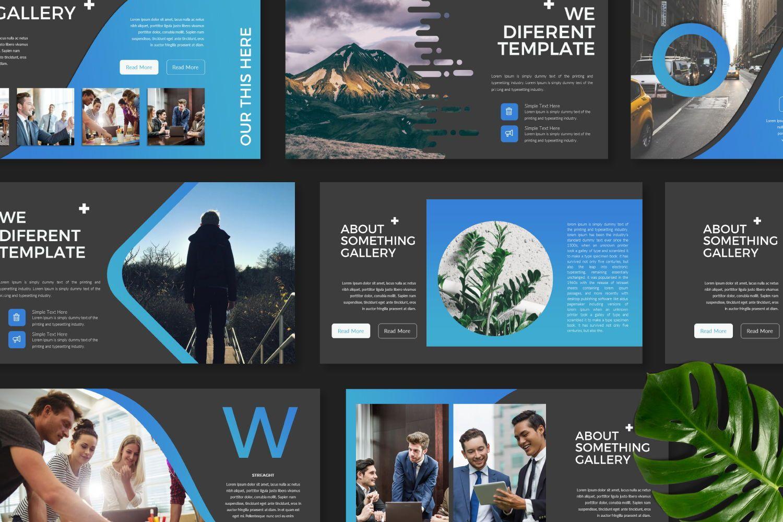 UCorporate Business Powerpoint, Slide 8, 07413, Presentation Templates — PoweredTemplate.com