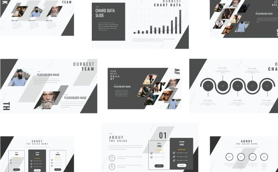 Think Creative Google Slide, Slide 6, 07415, Presentation Templates — PoweredTemplate.com