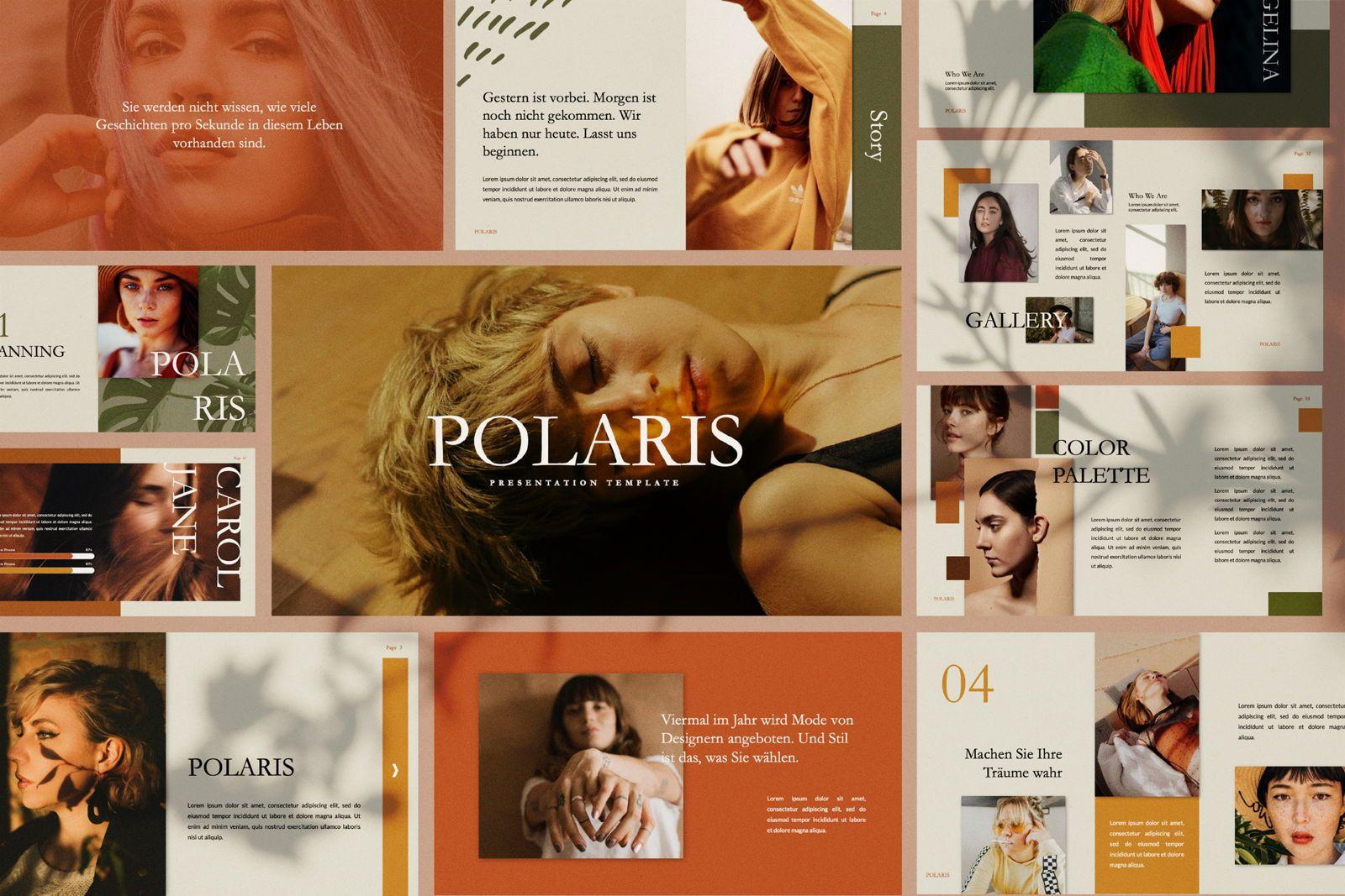 Polaris Creative Powerpoint, 07420, Presentation Templates — PoweredTemplate.com