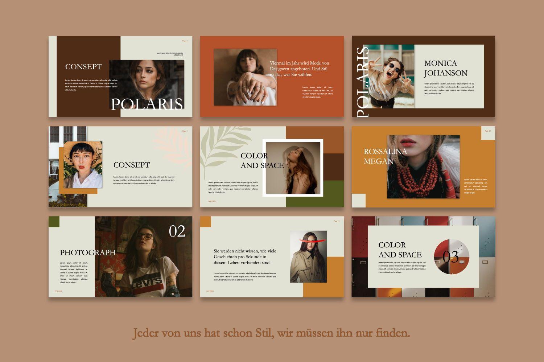 Polaris Creative Powerpoint, Slide 5, 07420, Presentation Templates — PoweredTemplate.com