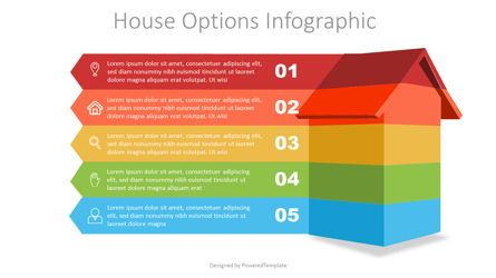 Infographics: House Options Infographic #07422