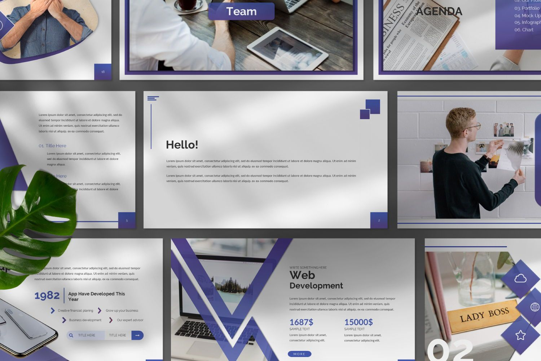 Space Business Powerpoint, Slide 9, 07425, Presentation Templates — PoweredTemplate.com
