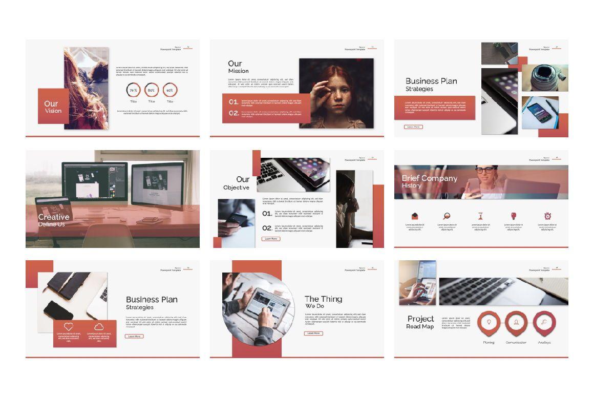 Space Spesific Business Google Slide, Slide 4, 07426, Presentation Templates — PoweredTemplate.com