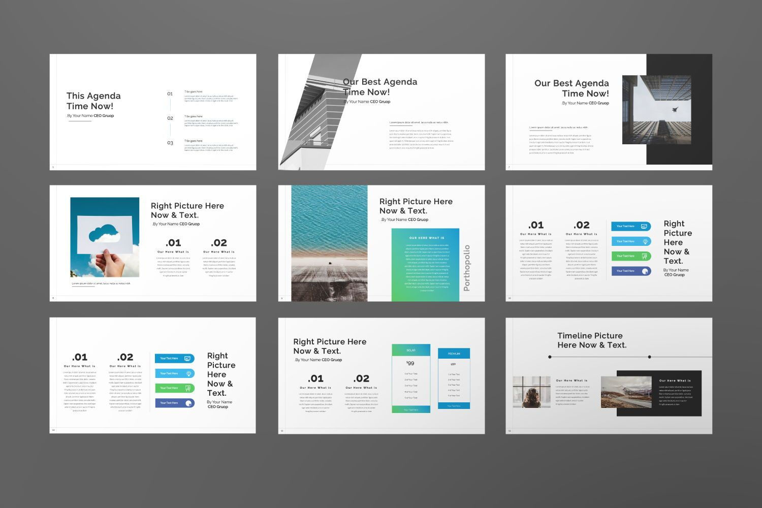 Star Up Creative Keynote, Slide 4, 07427, Presentation Templates — PoweredTemplate.com