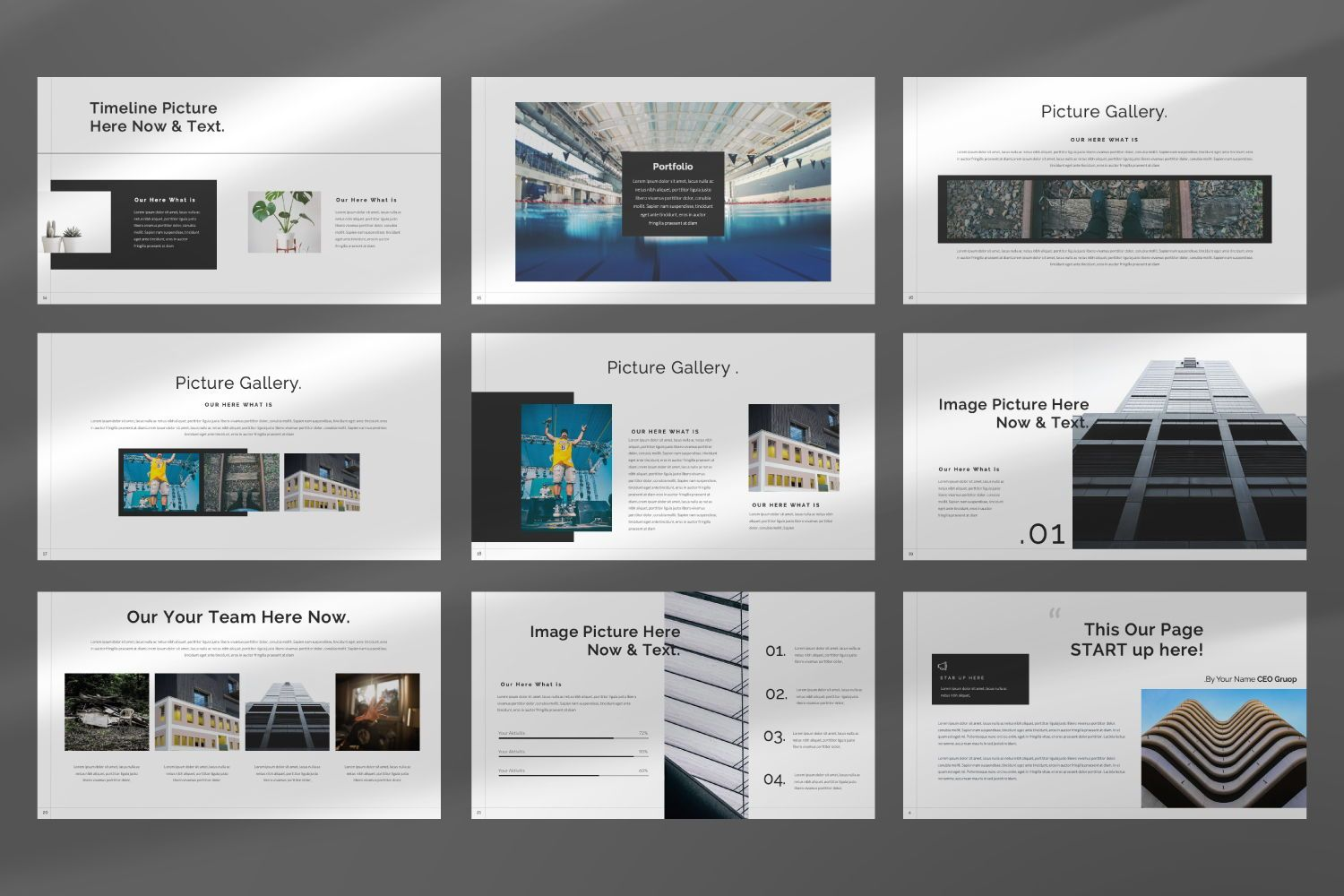 Star Up Creative Keynote, Slide 5, 07427, Presentation Templates — PoweredTemplate.com