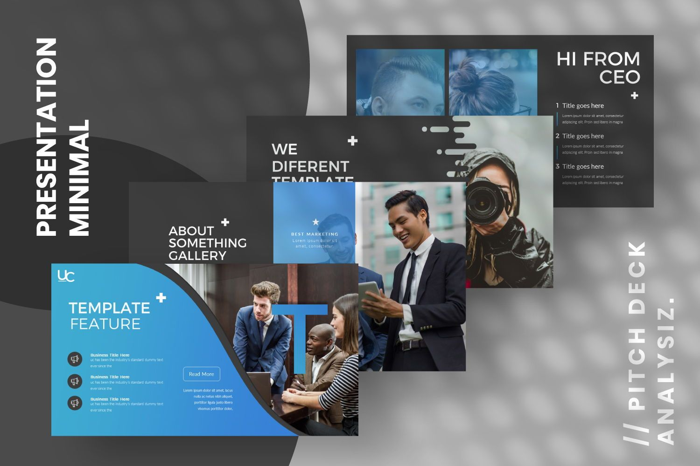 UCorporate Business Google Slide, Slide 2, 07429, Presentation Templates — PoweredTemplate.com