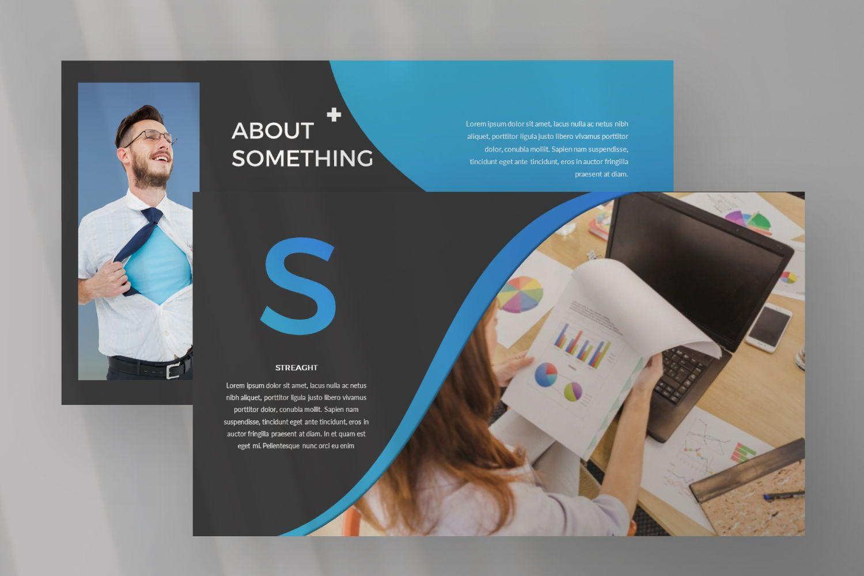 UCorporate Business Google Slide, Slide 7, 07429, Presentation Templates — PoweredTemplate.com