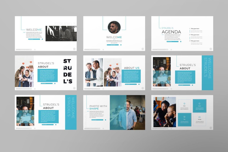 Strudel's Business Keynote, Slide 2, 07430, Presentation Templates — PoweredTemplate.com