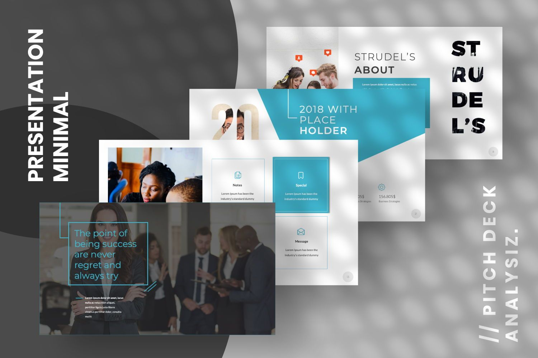 Strudel's Business Keynote, Slide 7, 07430, Presentation Templates — PoweredTemplate.com