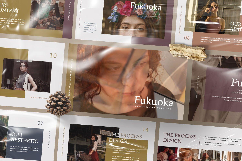 Fukuoka Creative Keynote, Slide 9, 07435, Presentation Templates — PoweredTemplate.com