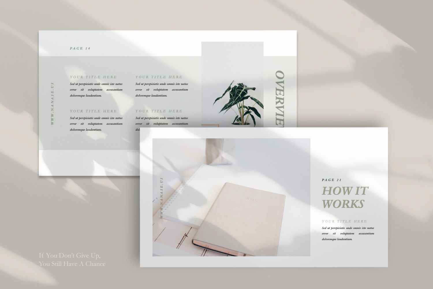 Nanase Creative Powerpoint, Slide 10, 07436, Presentation Templates — PoweredTemplate.com