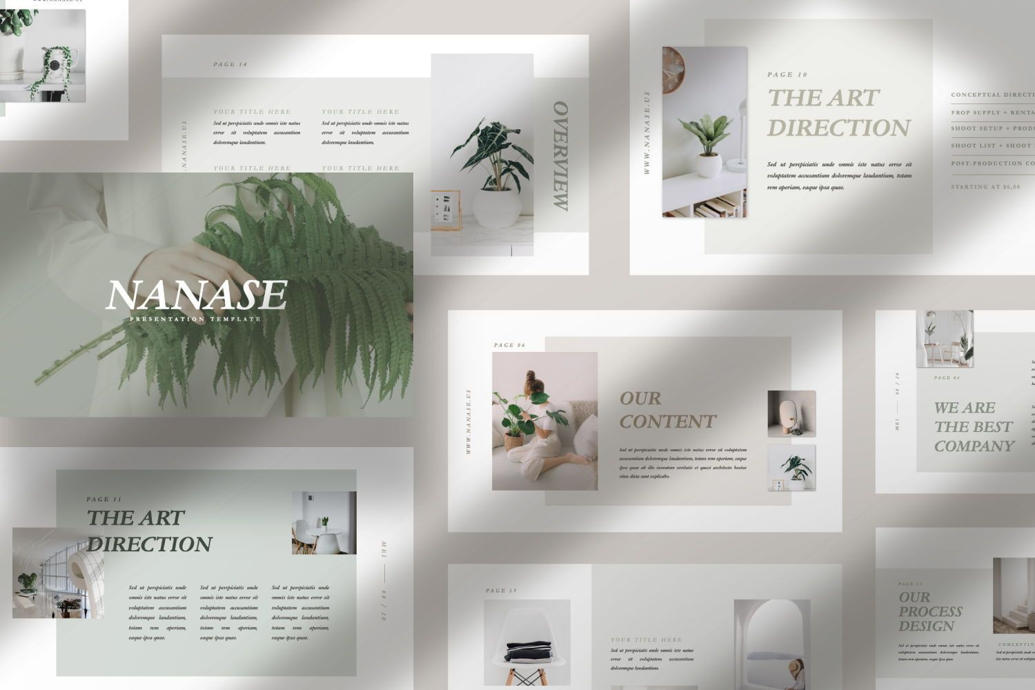 Nanase Creative Powerpoint, Slide 2, 07436, Presentation Templates — PoweredTemplate.com