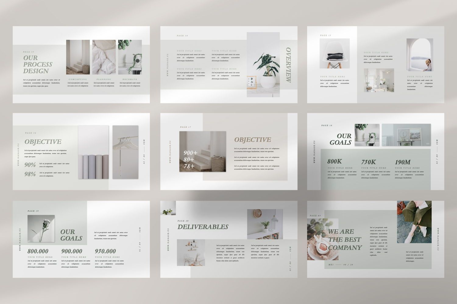 Nanase Creative Powerpoint, Slide 5, 07436, Presentation Templates — PoweredTemplate.com