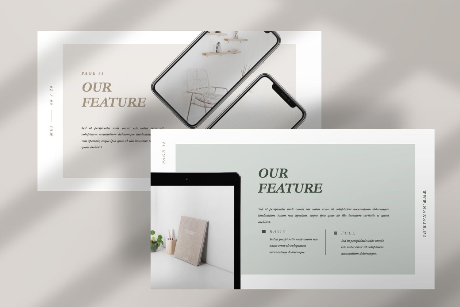 Nanase Creative Powerpoint, Slide 8, 07436, Presentation Templates — PoweredTemplate.com