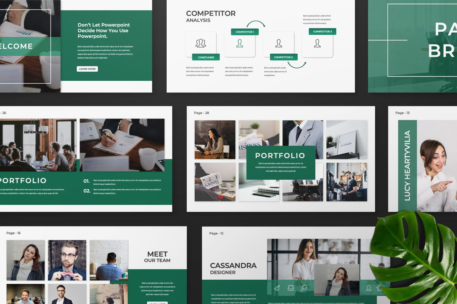Company Business Google Slide, Slide 7, 07439, Presentation Templates — PoweredTemplate.com