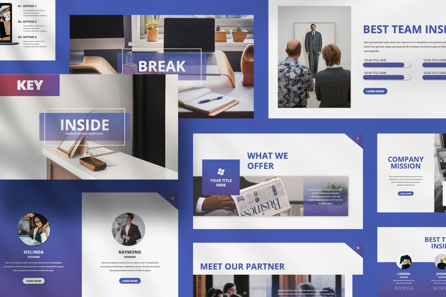 Inside Business Keynote, 07440, Presentation Templates — PoweredTemplate.com