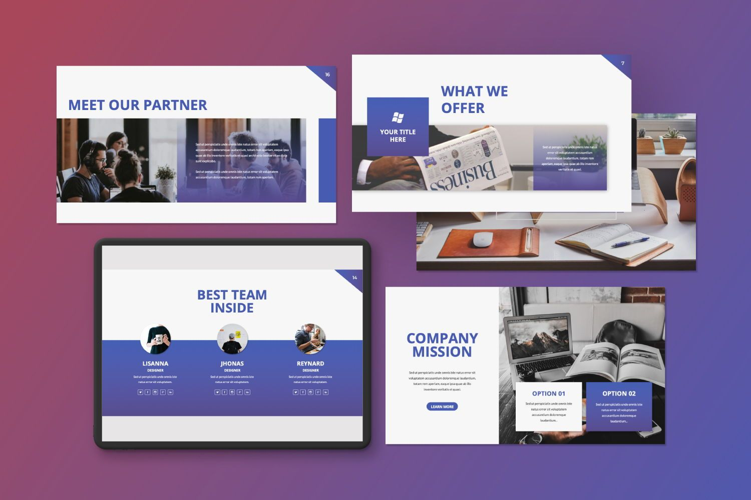 Inside Business Keynote, Slide 2, 07440, Presentation Templates — PoweredTemplate.com