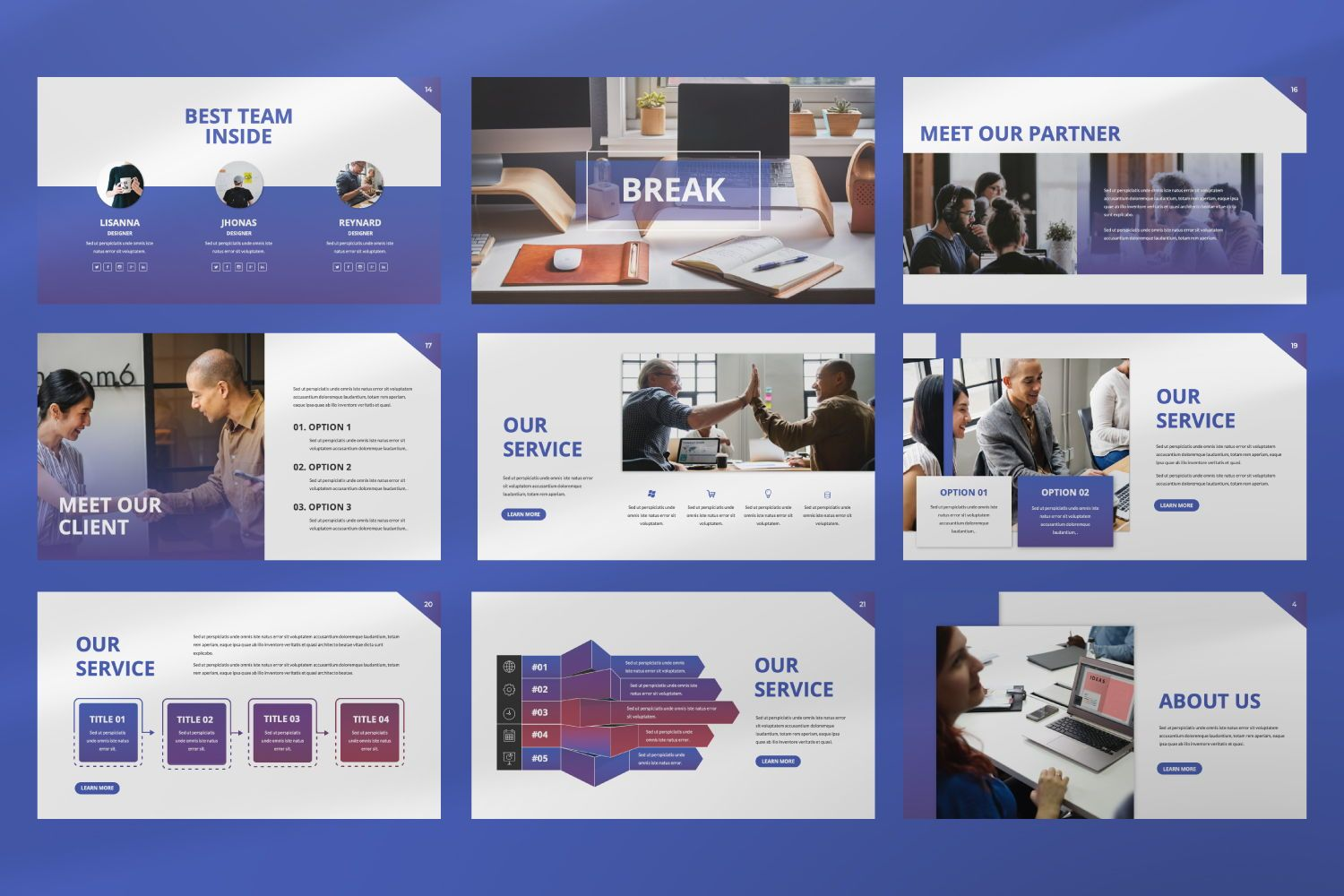 Inside Business Keynote, Slide 4, 07440, Presentation Templates — PoweredTemplate.com
