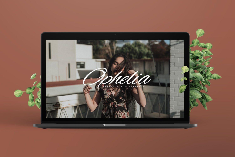 Ophelia Brand Powerpoint, Slide 7, 07441, Presentation Templates — PoweredTemplate.com