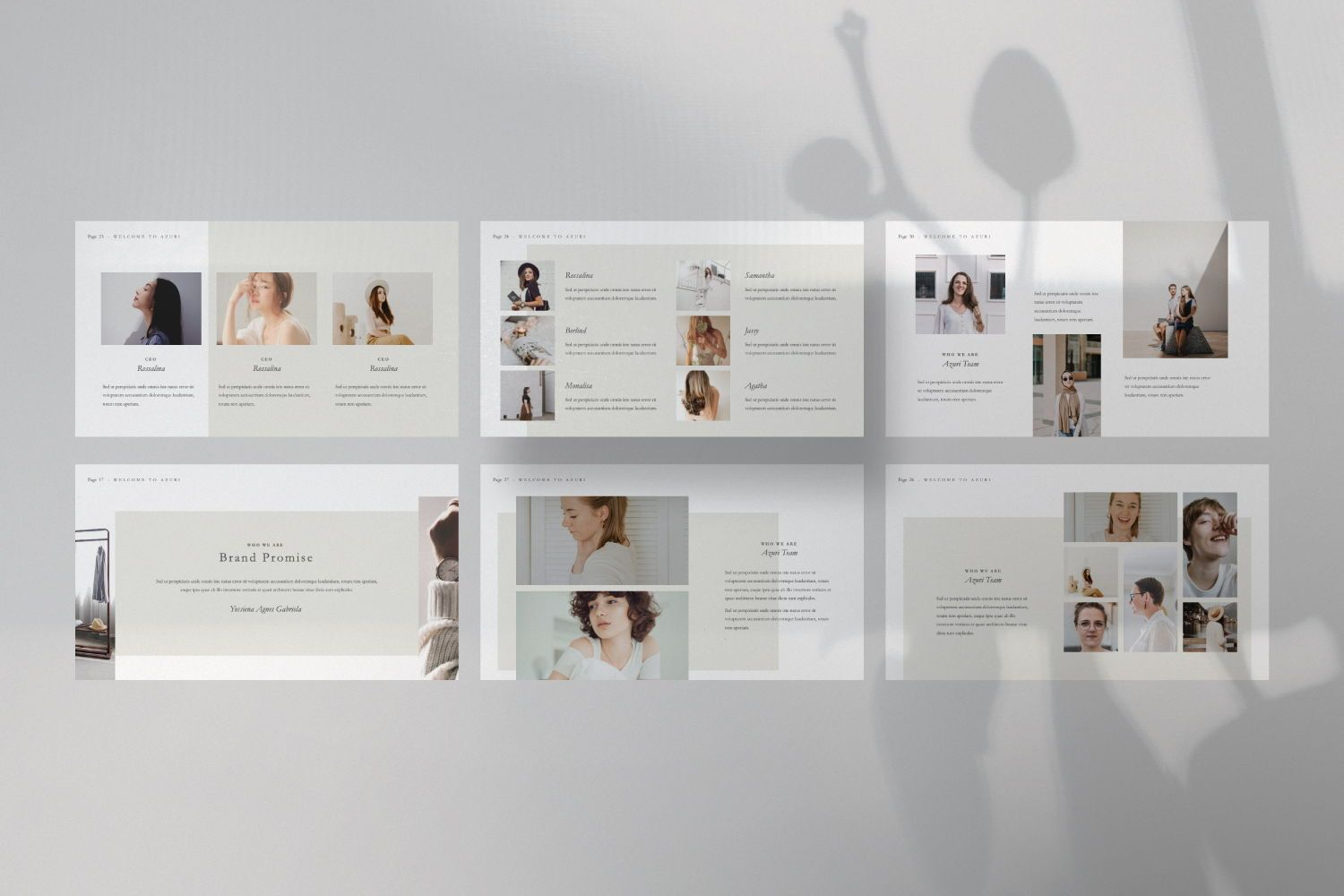 Azuri Creative Powerpoint, Slide 2, 07445, Presentation Templates — PoweredTemplate.com