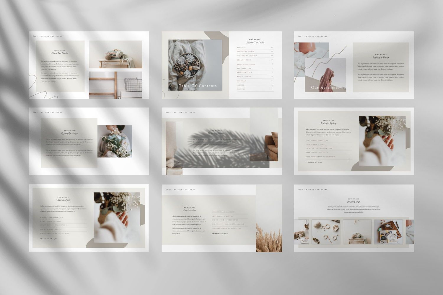 Azuri Creative Powerpoint, Slide 4, 07445, Presentation Templates — PoweredTemplate.com