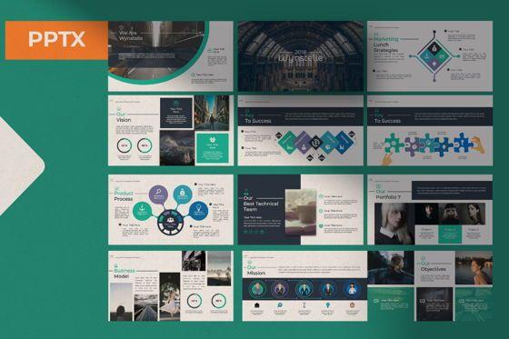 Presentation Templates: Wynstelle Creative Powerpoint #07452