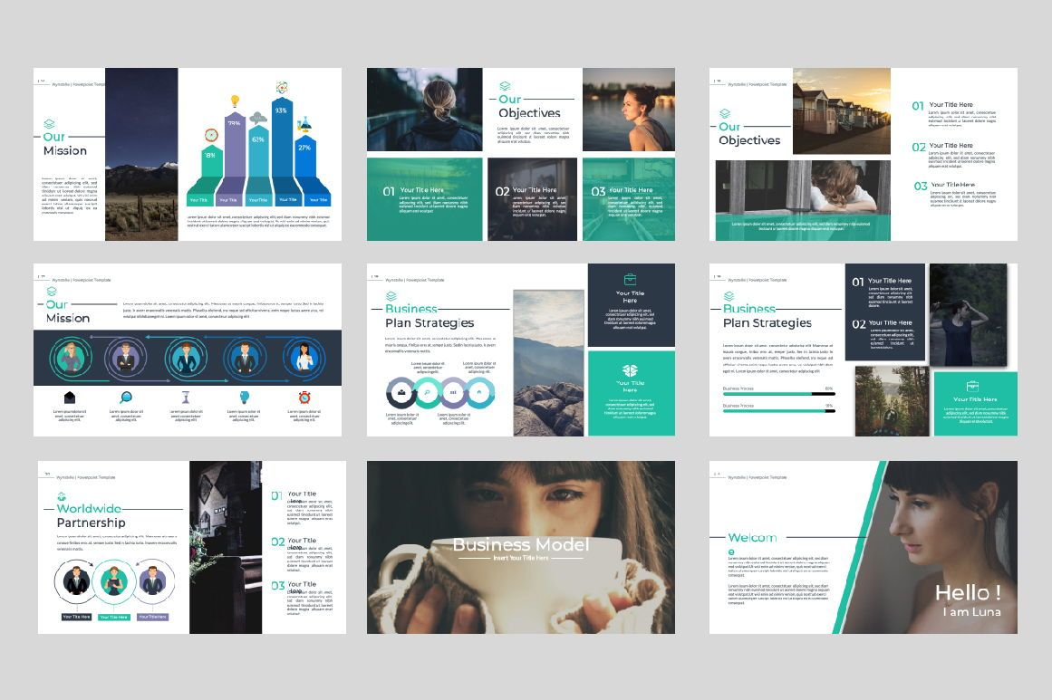 Wynstelle Creative Powerpoint, Slide 2, 07452, Presentation Templates — PoweredTemplate.com