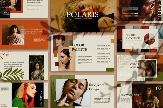 Presentation Templates: Polaris Creative Keynote #07454