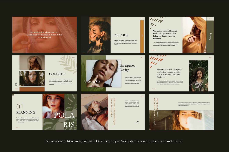 Polaris Creative Keynote, Slide 2, 07454, Presentation Templates — PoweredTemplate.com