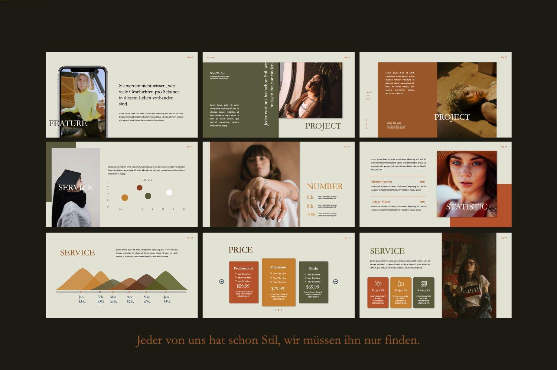 Polaris Creative Keynote, Slide 6, 07454, Presentation Templates — PoweredTemplate.com