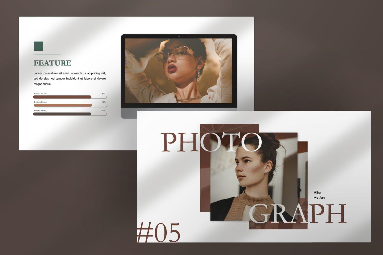 Montana Brand Google Slide, Slide 9, 07457, Presentation Templates — PoweredTemplate.com