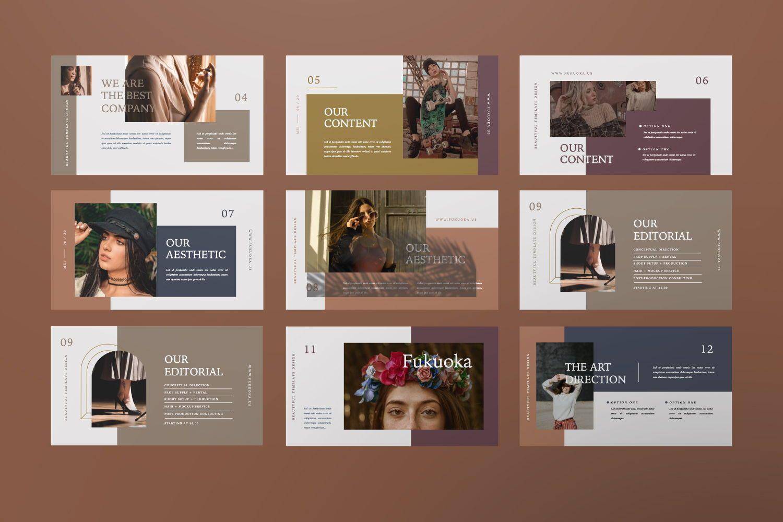 Kanna Creative Brand Keynote, Slide 3, 07459, Presentation Templates — PoweredTemplate.com