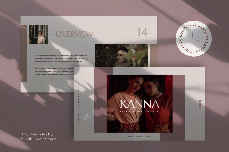Kanna Creative Brand Keynote, Slide 5, 07459, Presentation Templates — PoweredTemplate.com