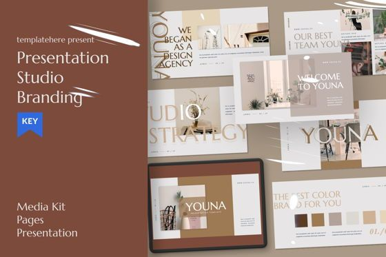 Presentation Templates: Youna Creative Keynote #07462
