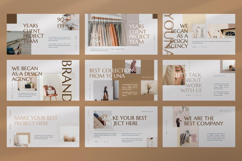 Youna Creative Keynote, Slide 3, 07462, Presentation Templates — PoweredTemplate.com