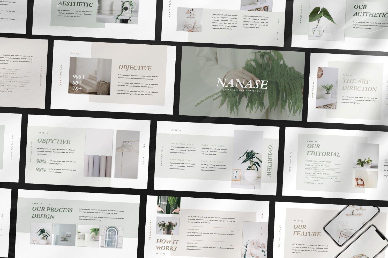 Nanase Creative Google Slide, Slide 3, 07463, Presentation Templates — PoweredTemplate.com