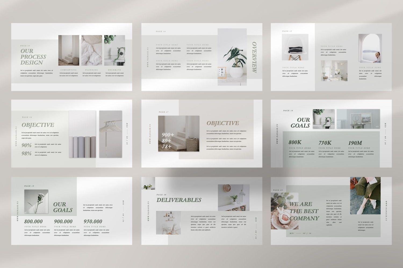 Nanase Creative Google Slide, Slide 5, 07463, Presentation Templates — PoweredTemplate.com