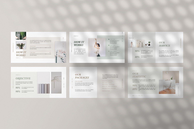 Nanase Creative Google Slide, Slide 6, 07463, Presentation Templates — PoweredTemplate.com