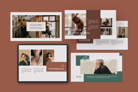 Presentation Templates: Ophelia Brand Keynote #07467
