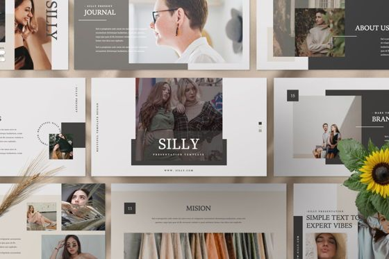 Presentation Templates: Silly Brand Google Slide #07468