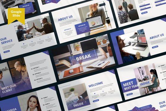 Presentation Templates: Inside Business Google Slide #07478