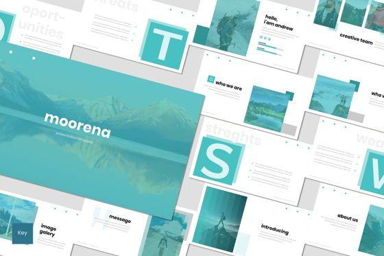 Presentation Templates: Moorena - Keynote Template #07479