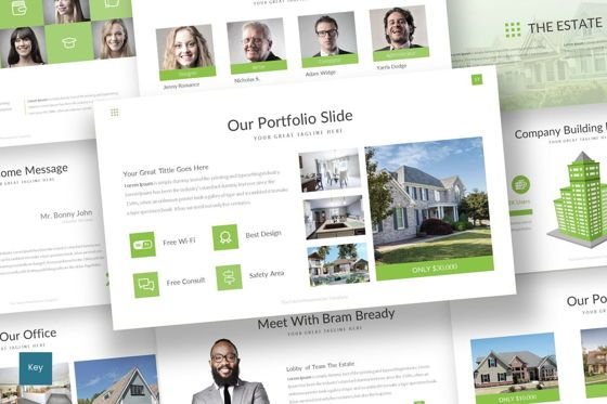 Presentation Templates: The Estate - Keynote Template #07482