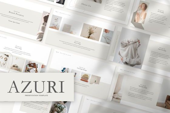 Presentation Templates: Azuri Creative Google Slide #07484