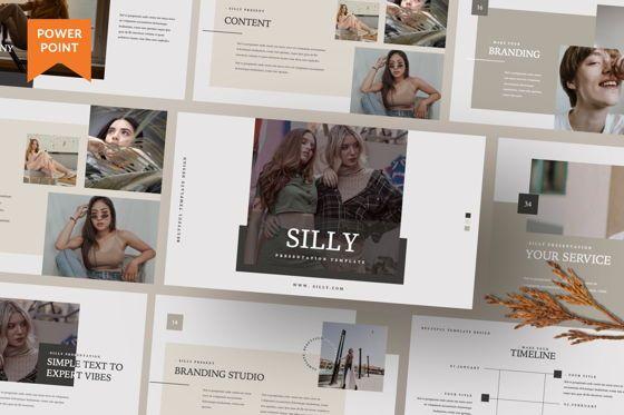 Presentation Templates: Silly Brand Powepoint #07485