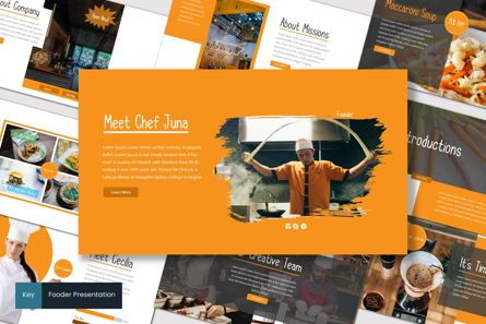 Presentation Templates: Fooder - Keynote Template #07487